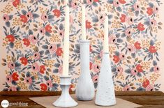 How To Turn Thrift Store Candlesticks Into Charming Rustic Decor · One Good Thing by Jillee Homemade Wipes, Homemade Laundry Detergent, Affordable Garage Doors, Diy Craft Projects, Diy Crafts, Simple Crafts, Mason Jar Dispenser, Diy First Aid Kit, Baby Rag Quilts