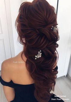 Nadi Gerber long wavy wedding hairstyles