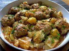 Gołąbkowa patelnia - pyszne danie jednogarnkowe! - Blog z apetytem Fast Easy Dinner, Easy Dinner Recipes, Easy Meals, Kitchen Recipes, Cooking Recipes, Healthy Recipes, Bean Soup Recipes, Fast Dinners, Meatball Recipes