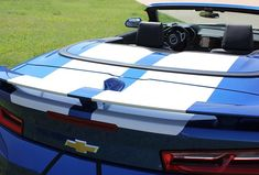 Chevy Camaro Convertible Wide Stripes CAM SPORT PIN ( pics do not show pin stripe borders, sorry ) 2017 Chevy Camaro, Chevy Camaro Convertible, Camaro Rs, Chevelle Ss, Camaro Models, Rat Rod Girls, Racing Stripes, Wide Stripes, Chevy Pickups