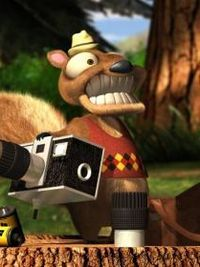 Twitchy from Hoodwinked 2005 (old movie, yes I know)