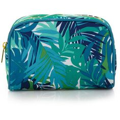 - Forever 21 Botanical Print Cosmetic Bag -