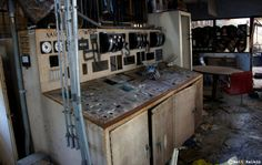 Control Room, Abandoned Power Plant, Letchworth Village Institution, NY