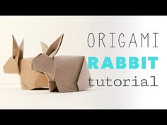 Origami Bunny Rabbit Tutorial - YouTube