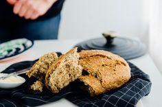 no-knead super seedy spelt bread | www.scalingbackblog.com