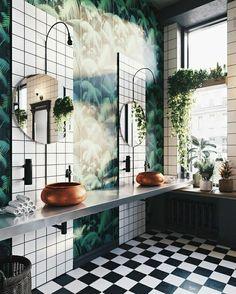 La salle de bain : Entre rêve et réalité - Blog Traits D'co