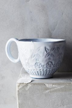Have your dessert and drink it, too. Cozy up with an oversized mug full of hot cocoa, tea, or hot apple cider.Anthropologie Etched Geo Mug, $16, available at Anthropologie. #refinery29 http://www.refinery29.com/netflix-and-chill-products#slide-1