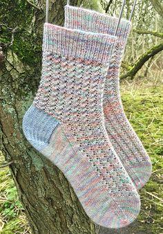 Ravelry: Incantation Socks pattern by Kay F Jones