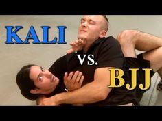 Kali Counters Brazilian Jiu Jitsu - Filipino Martial Arts vs BJJ