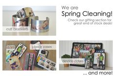 We are Spring Cleaning! We have discounted some of our gifting items as we try to clear out some of our older stock to make way for new items. Take a look at some of our last chance choices, and get some ideas for Mother's and Father's day. Photo Supplies, Mother And Father, Some Ideas, Spring Cleaning, Fathers Day, Choices, Phone Cases, Gifts, Presents
