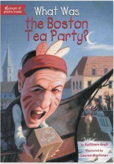 Boston Tea Party History Tea Craft for Kids