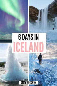 Tick Iceland off your bucket list with the perfect 6 Day Iceland Itinerary for first-time visitors to Reykjavik and the South Coast, including the northern lights, the blue lagoon and ice caving. Iceland Travel Tips, Europe Travel Tips, Travel Guides, Travel Abroad, Travel Advice, Top Travel Destinations, Places To Travel, Places To Visit, Michigan