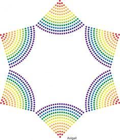 Ster | Patroon | glittermotifs