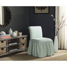Safavieh Ivy Vanity Chair, Multiple Colors, Blue