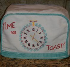 handmade toaster covers | Time for Toast Vintage Toaster Cover by TheFarmersDaughterKS