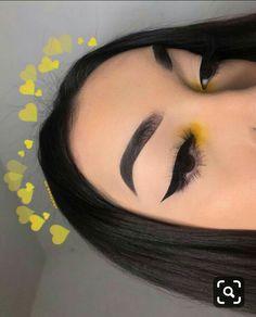 Eyeliner Brush, No Eyeliner Makeup, Eye Makeup Remover, Winged Eyeliner, Skin Makeup, Eyeliner Stencil, Eyeliner Tattoo, Makeup Brushes, Makeup Eye Looks