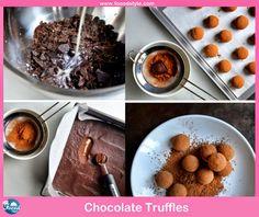 Yummy Chocolate Truffles idea! - Foood Style