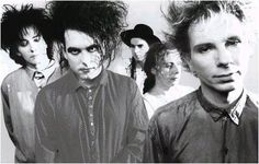 The Cure ~ one of my hubby's favorite bands