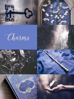 Harry Potter Moodboards - Charms