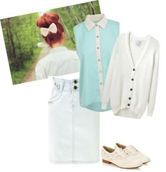 """""""Hint of nerdy"""" by teresa-sharp ❤ liked on Polyvore"""