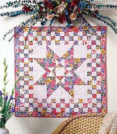 Spring Splash Friday Freebie: Spring Splash Wall Quilt Pattern