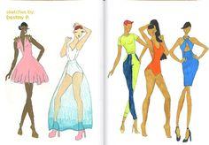 #Fashion Sketches by Destiny P.