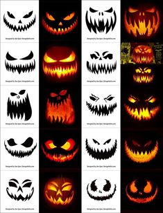 290 Free Printable Halloween Pumpkin Carving Stencils Patterns Designs Faces & Ideas The post 290 Free Printable Halloween Pumpkin Carving Stencils Patterns Designs Faces & Ideas appeared first on Halloween Pumpkins. Halloween Pumpkin Carving Stencils, Scary Halloween Pumpkins, Spooky Pumpkin, Halloween Tags, Easy Halloween, Scary Pumpkin Faces, Pumpkin Ideas, Free Pumpkin Stencils, Halloween Pumpkin Makeup