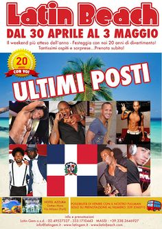 Vivi con noi il weekend danzante più divertente dell'anno www.latinbeach.com  #latingem   #latinbeach #salsa   #hiphop   #zumba   #fitness   #romagna   #ponte   #dance   #stage   #ballo
