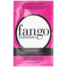 Fango Essenziali Sheet Mask, Purify