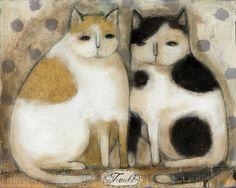 Trouble by artist Laurie Meseroll
