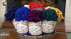 Alize Puffy ile Bere ve Boyunluk Yapımı - Making Cowl and Beret with Ali...