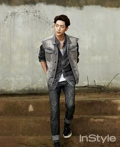 Extra Spreads Of Seo Kang Joon From InStyle Korea's September 2014 Issue | Couch Kimchi