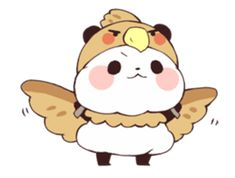 – LINE Stickers Panda Lindo, Cute Panda Wallpaper, Panda Wallpapers, Molang, Line Store, Line Sticker, Cute Stickers, Easy Drawings, Drawing Ideas