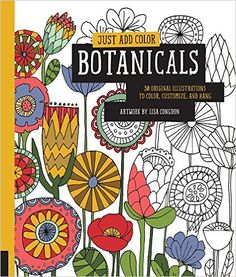 Botanicals: 30 Original Illustrations to Color, Customize, and Hang: Amazon.it: Lisa Congdon: Libri in altre lingue