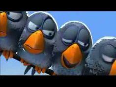 Animação engraçada de filhotes de galinha tirando sarro - YouTube