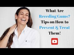 It can be painful, embarrassing and damaging to your oral health if you suffer from gum recession. In this video, we'll look at the main causes of receding g. Bad Breath Remedy, Receding Gums, Dental Hygiene, Oral Health, Remedies, Treats, Tips, Youtube, Sweet Like Candy