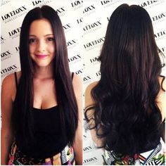 "With a full and thick hair can transform any woman ""the girl next door"" to a striking beauty queen."