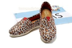 Toms leopard red shoes [toms-033] - $27.96 :