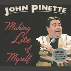 Making Lite of Myself Welcome back John! After two years of dancing in high heels on Broadway starring as Edna Turnblad in Hairspray John is finally back on the comedy stage. Making Lite of Myself is Johns follow-up to the uproarious and extremely successful Show Me the Buffet which years later continues to attract fans. When asked to describe his stand-up John Pinette says I talk about my life. It is the funniest thing I can think of. For some reason people enjoy seeing me lose my… John Pinette, Laugh Factory, Life Code, Best Audiobooks, Stand Up Comedians, Stand By Me, Losing Me, Talk To Me, Audio Books