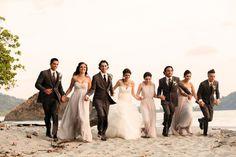 Costa Rica Wedding  -  Villa Punto de Vista - Luxury Villa & Wedding Venue - Real Weddings  - Beach Celebration!