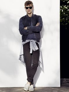 Mathias Lauridsen + Cedric Bihr Pose for H. by Mango Spring/Summer 2014 Photos by corine Street Style Boy, Summer 2014, Spring Summer, Revival Clothing, The Fashionisto, Photography Poses For Men, Smart Casual, Style Guides, Casual Outfits