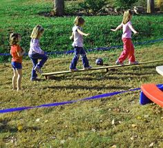 Outdoor Kid Game Ideas for Birthday Parties