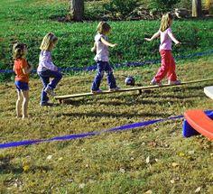 Outdoor Kid Game Ideas for Birthday Parties  Balloon toss