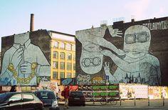 The heritage of berlin street art and the graffiti scene.  I absolutely love smashing magazine. Hugely inspirational.