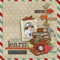 Digital Scrapbooking Kit - LIFE'S JOURNEY | ForeverJoy Designs