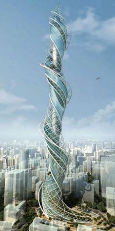 Wadala Tower, Mumbai, India  Whoa. I'd climb that.