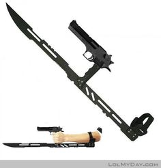Just my new Anti-Zombie Weapon