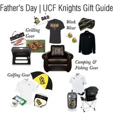 Father's Day | UCF Knights Gift Guide by ucfgear on Polyvore featuring polyvore, fashion, style, INC International Concepts, Cutter & Buck, JanSport, Columbia Sportswear, clothing and ucf
