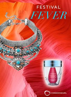 Festival Fever Contest!  You could WIN all 3 of our Dazzle Products & Baublebar Audrina Warrior Bib - Jewelry Contest   http://connoisseurs.com/contest-entry-apr17AK2.htm