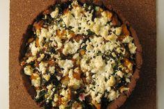 Swiss Chard, Sweet Potato, and Ricotta Salata Tart recipe on Food52